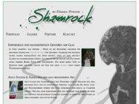 Webdesign Berlin - Shamrock Glasgravur Berlin